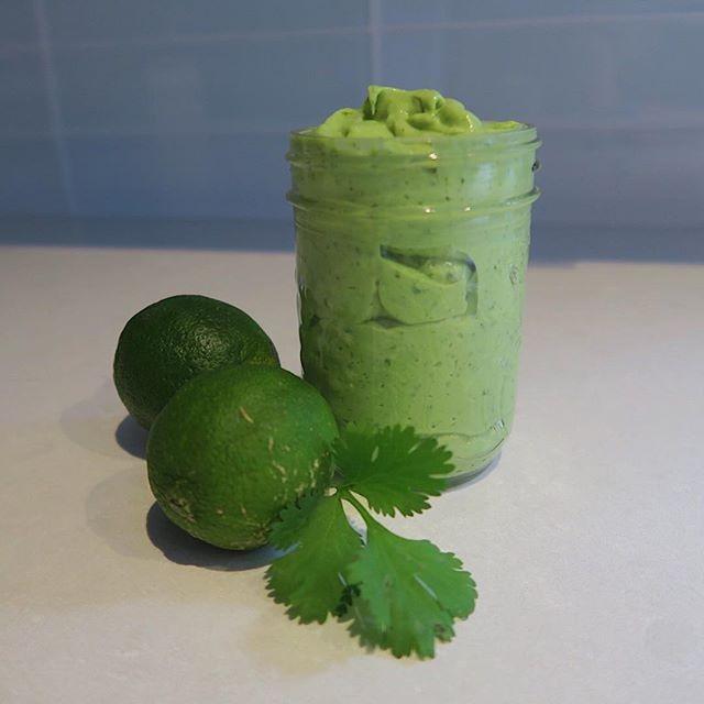 Avocado-lime-dressing